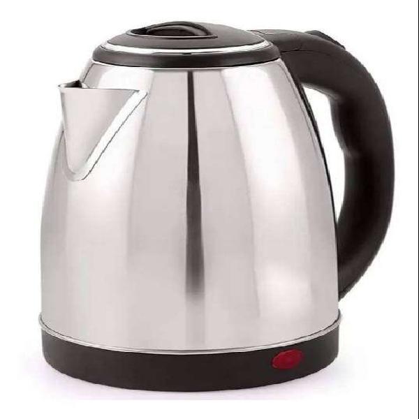 Pava eléctrica acero inoxidable mate cafe té jarra