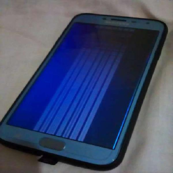 Samsung j4 con el display roto