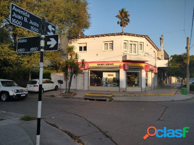 Local + vivienda (3 amb c/ cochera) + deposito +lote