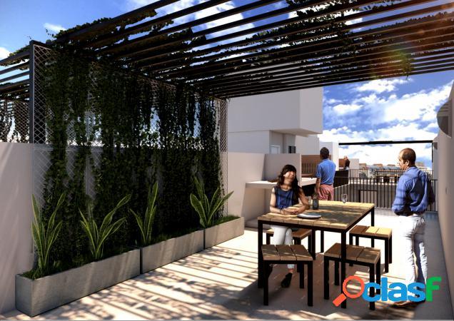 Duplex dos dormitorios - terraza exclusiva y terraza uso común con parrillero - entrega inmediata - castellanos 448