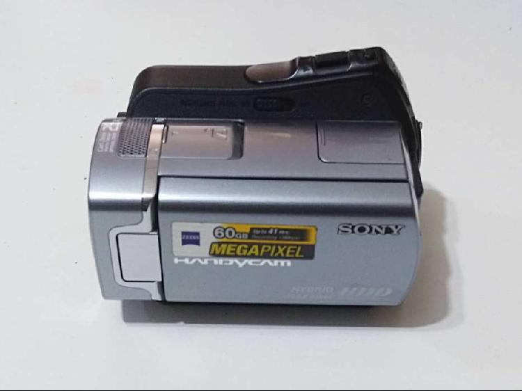 Filmadora handycam hybrid hdd