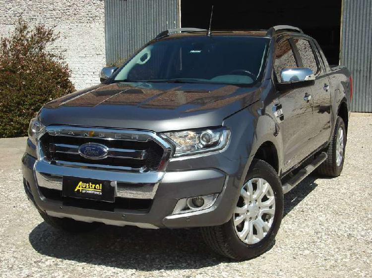 Ford ranger 3.2 limited 4x4 automática 2016