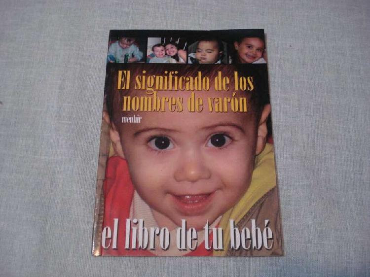 Libro de nombres (nena o nene)