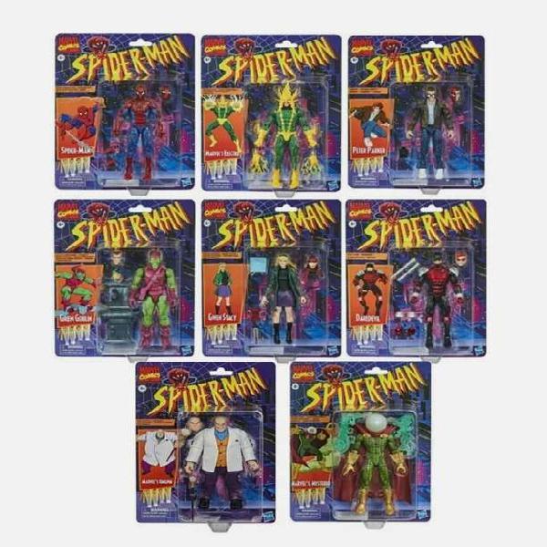 Muñecos spiderman hombre araña lote nuevo