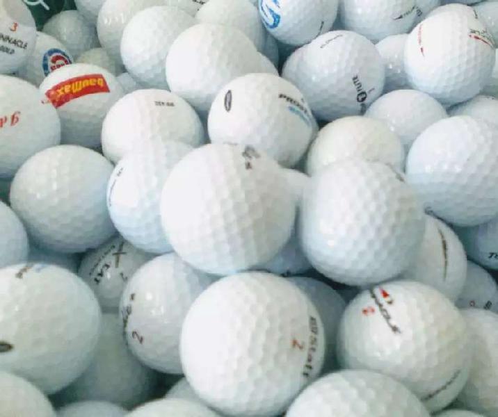 10 pelotas de golf 10 usadas