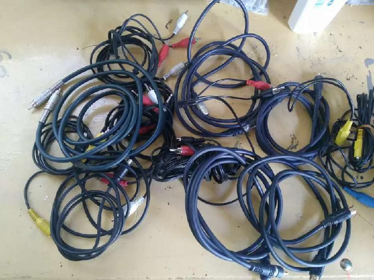 Cables de audio y video morón