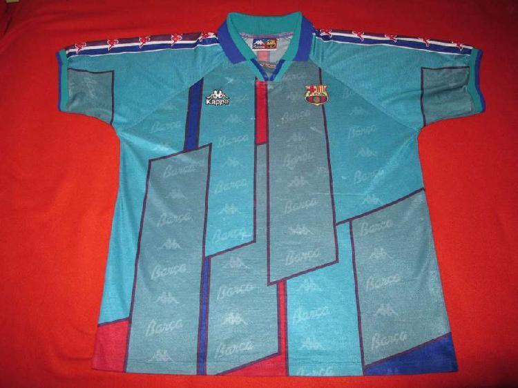 Camiseta barcelona suplente kappa 1995 away barça