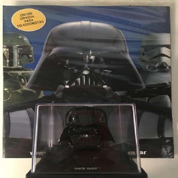 Casco darth vader star wars colección oficial nuevo