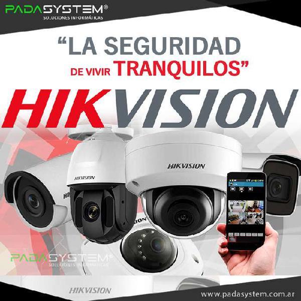 Cámaras de seguridad hikvision sistemas de videovigilancia