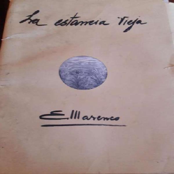 Colección completa de la estancia vieja de e. marenco