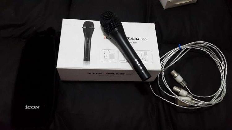 Micrófono icon iplug m usado
