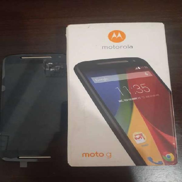 Motorola g 2da 1068xt dual sim micro sd liberado como nuevo!