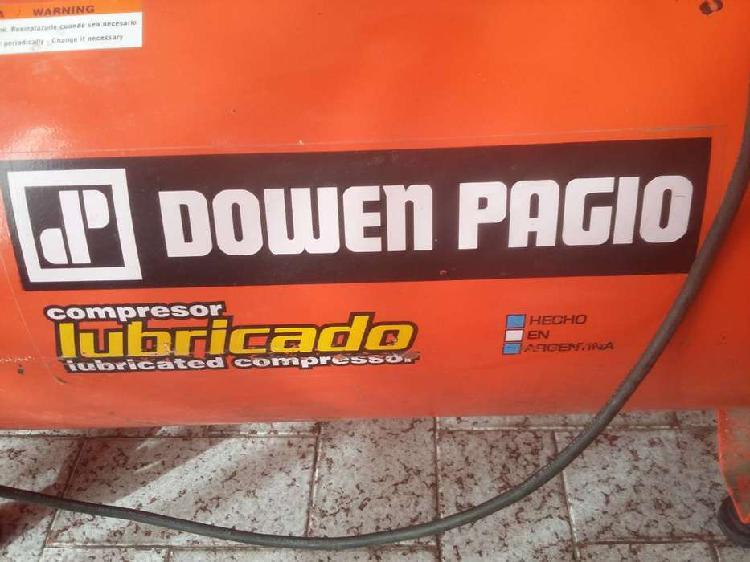 Compresor de aire dowen pagio 100 lts 2,5 hp