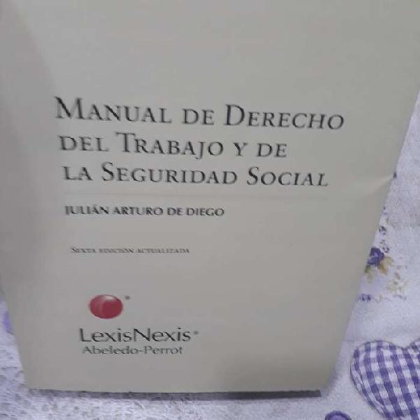 Manual de derecho del trabajo y de la seguridad social