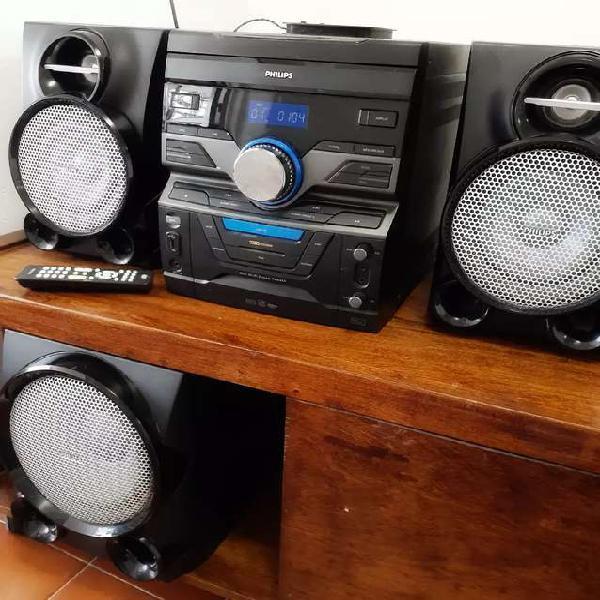 Mini sistema hi-fi philips