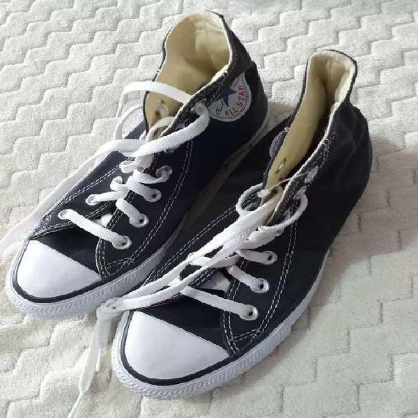 Zapatillas converse all star botitas negras