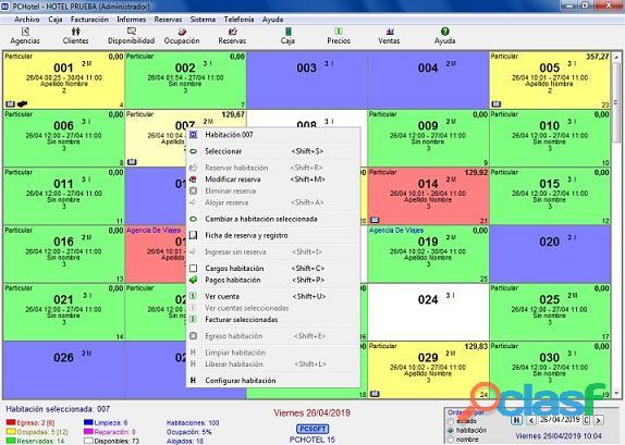 Pchotel   software hoteles   pcsoftsistemas@yahoo.com