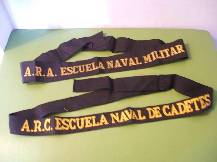 Armada argentina cintas gorra marinero
