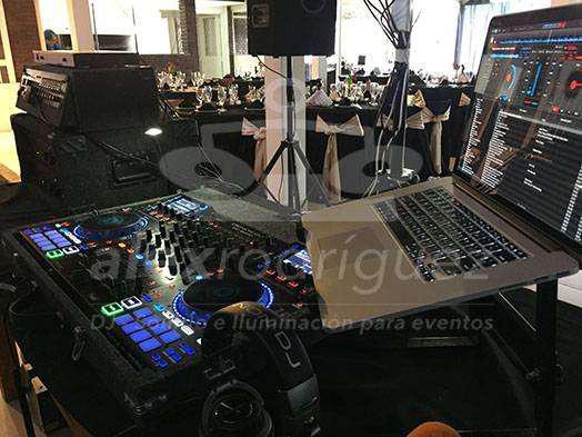 Alex rodríguez - dj - sonido e iluminación para eventos