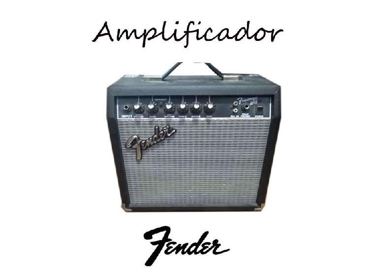 Amplificador fender frontman series 15g negro y plata