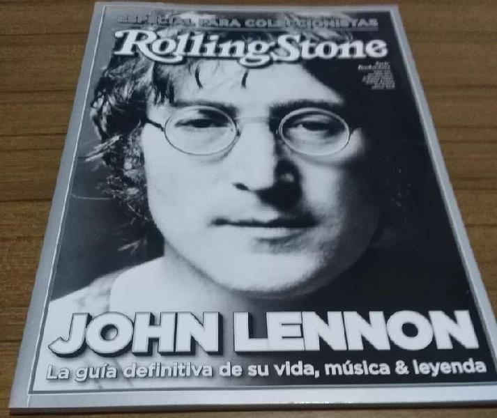 Edición especial sobre john lennon