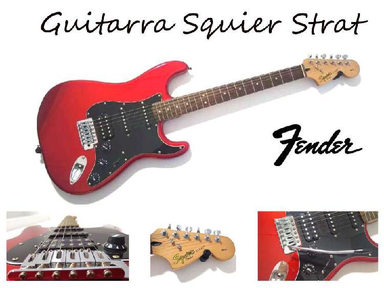 Guitarra squier strat by fender 2013