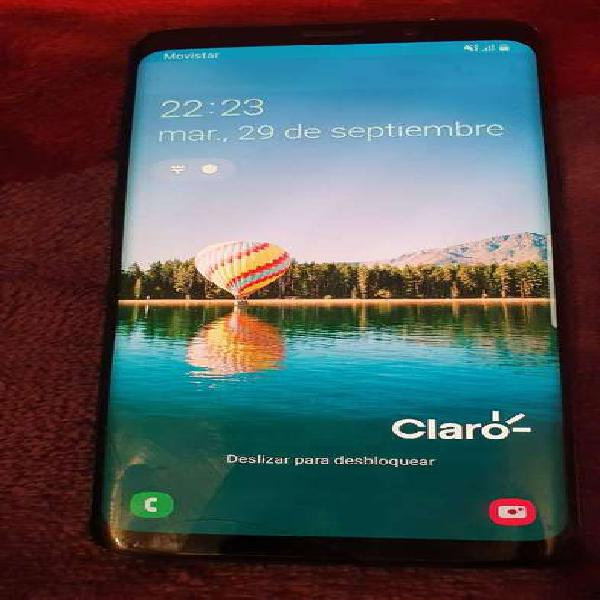 Samsung galaxy s9 negro libre. oferta! 64gb