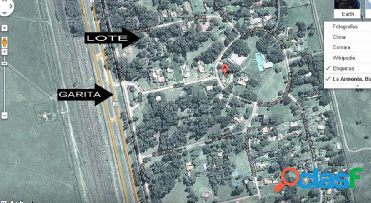 Lote de terreno En Barrio La Armonia 1