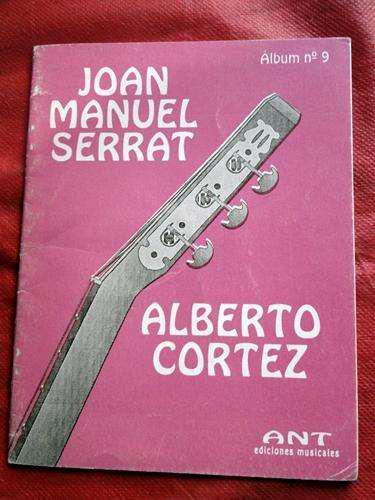 Alberto cortez joan manuel serrat cancionero álbum n 9