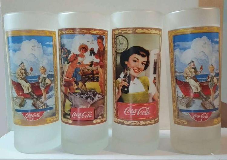 Coca cola vasos colección memorabilia