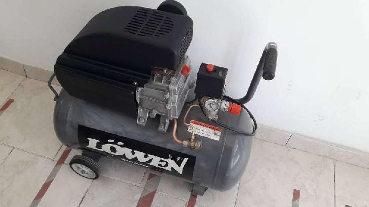 Compresor de aire 50 litros 2.5 hp 1 cilindro lowen
