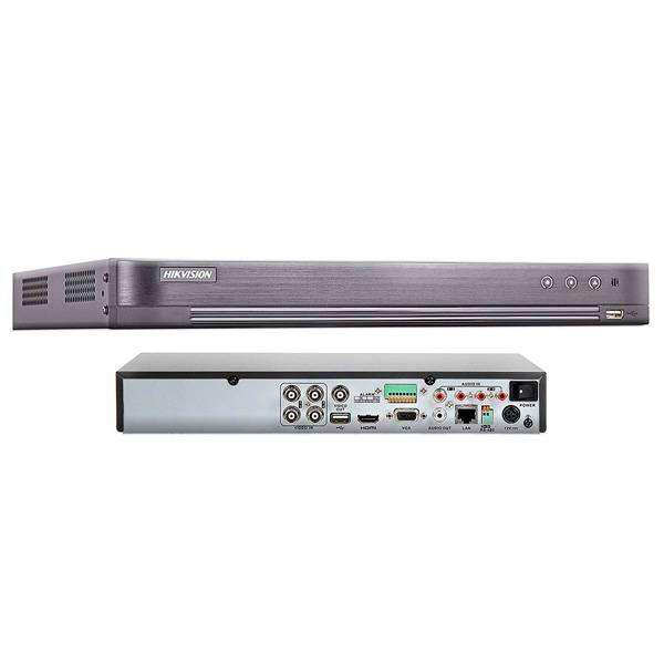 Dvr 4 canales hikvision 1080p+1 ip ds-7204hqhi-k1 / nio