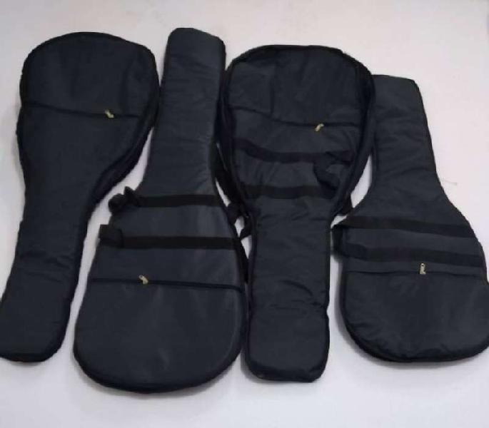 Excelentes fundas para guitarras acústicas, eléctricas y