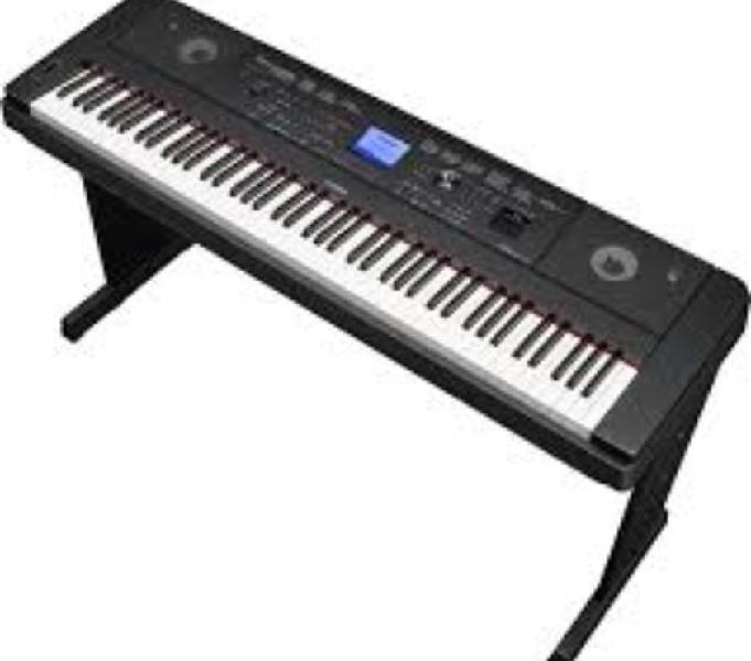 Piano electrico yamaha dgx-660