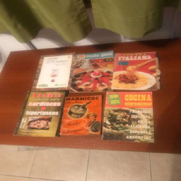 Revistas varias de cocina