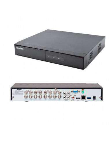 Dvr 16 canales 720p hikvision ds-7216hghi-k1