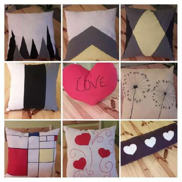 Almohadones decorativos. especial dia de la madre 2 x 750$