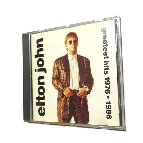 Cd elton john greatest hits 1976 - 1986 grandes exitos retro