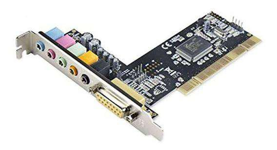 Placa de sonido 6 channel pci