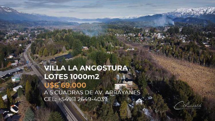 Villa la angostura loteo tres cerros