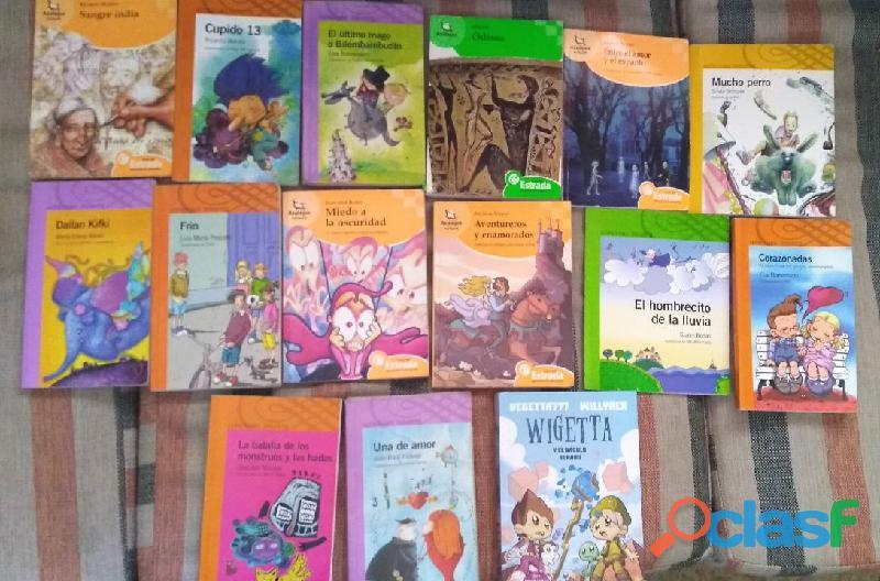 Libros usados, en buen estado