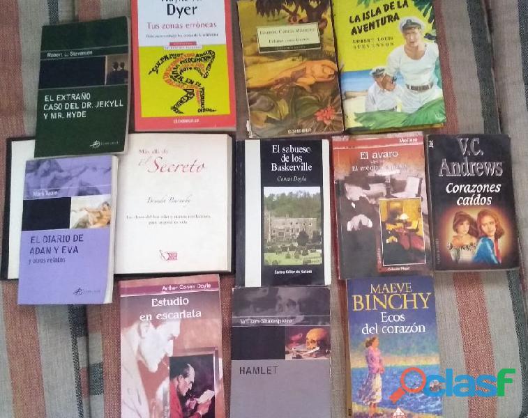 Libros usados, en buen estado 2