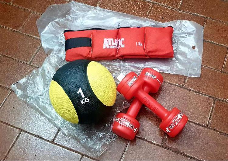 Kit fitness - articulos nuevos