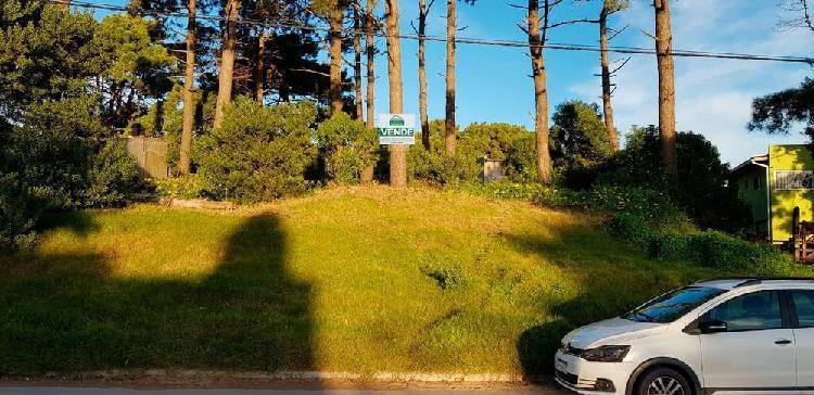 Villa gesell - atractivo lote en boulevard zona sur -