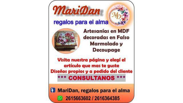 ARTESANIAS FABRICADAS EN MDF