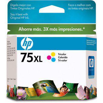 Cartucho HP 75XL-Tricolor