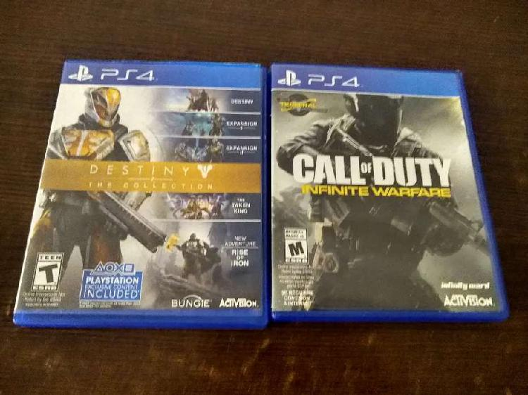 Destiny collection y call of dutty infinite warface