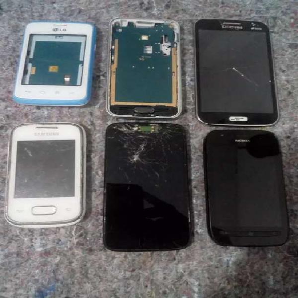 Lote celulares para reparar