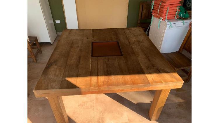 Muebles macizo de algarrobo