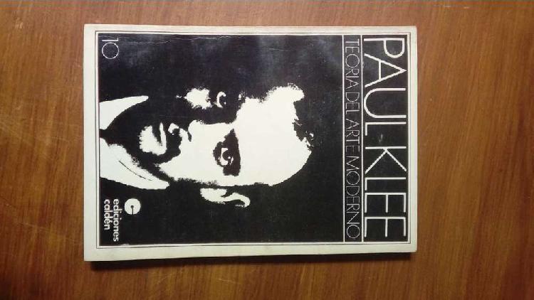 Paul Klee - Teoría del arte moderno